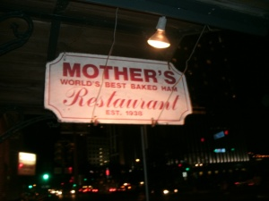Mothers Restuarant