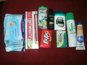 shoebox care package