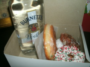 donuts and vodka