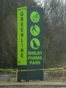 Greenline Sign Waring