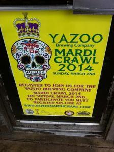 yazoo mardi crawl