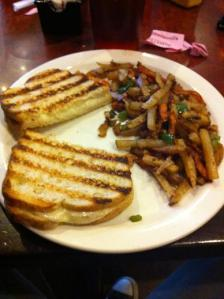 Eclectic Cafe Grilled Cheese Sandwich