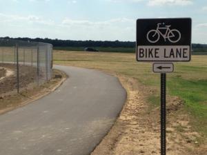 Shelby Farms Bike Lane 3