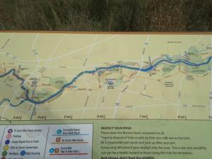 San Antonio River Trail Map 2