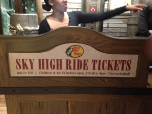 elevator to observation deck prices bass pro memphis tn