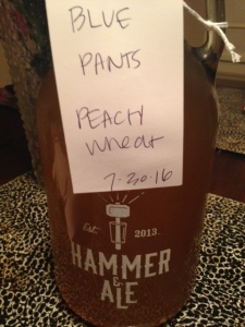 hammer and ale beer blue pants peach sour memphis tn